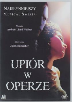 Upiór w Operze Płyta DVD Nowa