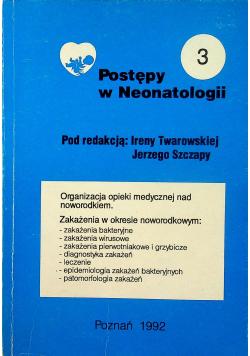 Postępy w Neonatologii Tom 3