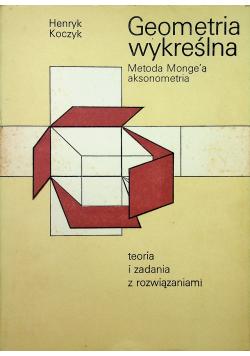 Geometria wykreślna teoria i zadania z rozwiązaniami