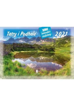 Kalendarz 2021 Rodzinny Tatry i Podhale WL5