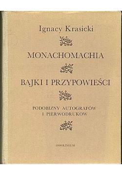 Monachomachia bajki i przypowieści reprint z 1778 r.