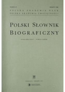 Polski Słownik Biograficzny Zeszyt 206