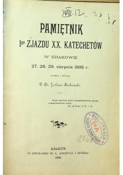 Pamiętnik I go Zjazdu XX Katechetów 1896 r.