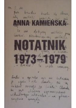 Kamieńska Notatnik 1973 1979
