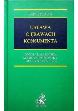Ustawa o prawach konsumenta