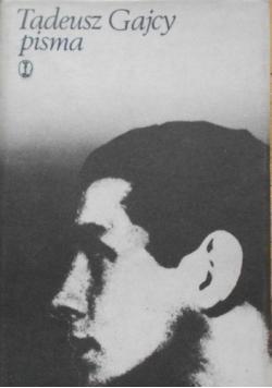 Tadeusz Gajcy pisma