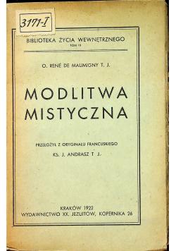Modlitwa mistyczna 1922r