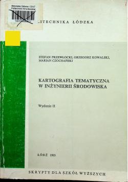 Kartografia tematyczna w inżynierii środowiska
