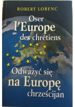 Odważyć się na Europę chrześcijan