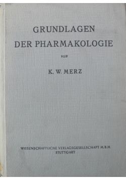 Grundlagen der Pharmakologie