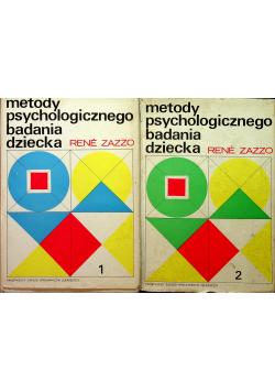 Metody psychologicznego badania dziecka Tom I i II