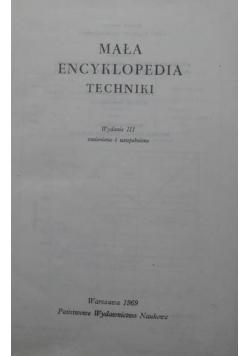 Mała encyklopedia techniczna