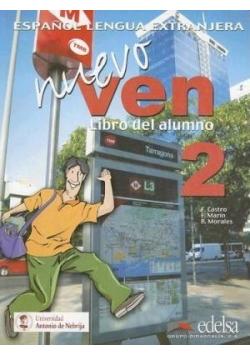 Ven Nuevo 2 Podręcznik + CD EDELSA
