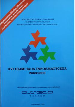 XVI Olimpiada informatyczna 2008 2009