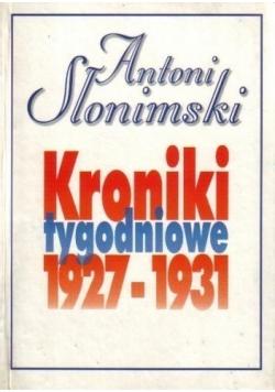 Kroniki tygodniowe 1927 1931