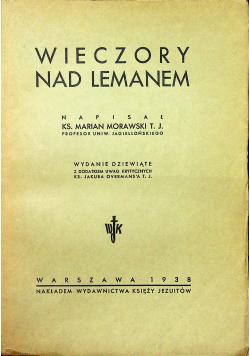 Wieczory nad Lemanem, 1938r.