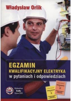 Egzamin kwalifikacyjny elektryka 2018