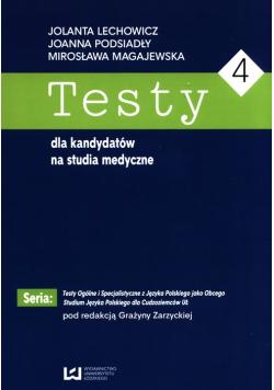 Testy dla kandydatów na studia medyczne 4