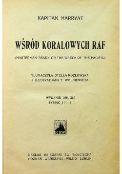 Wśród koralowych raf ok 1920 r.