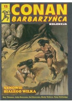 Conan barbarzyńca 12 Synowie białego wilka