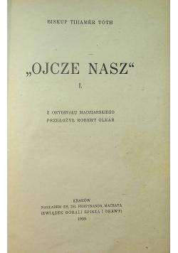 Ojcze Nasz I 1939 r.