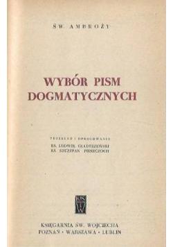 Wybór pism Dogmatycznych