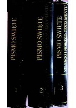 Pismo Święte 3 tomy