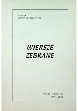 Bogowski Wiersze zebrane