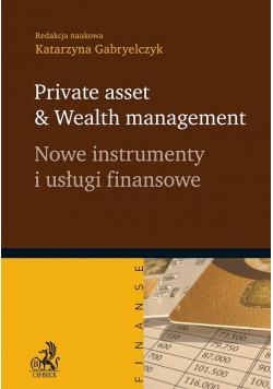 Nowe instrumenty i usługi finansowe