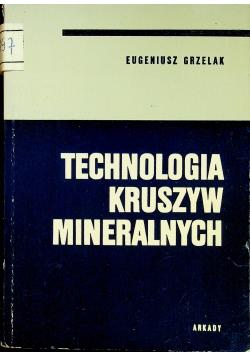 Technologia kruszyw mineralnych