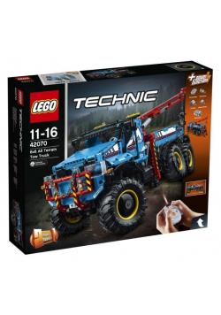Lego TECHNIC 42070 Terenowy holownik 6x6 2w1