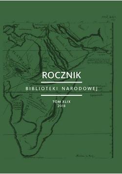 Rocznik Biblioteki Narodowej T. XLIX