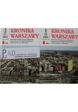 Kronika Warszawy cz I i II 120/121