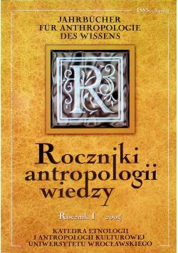 Rocznik antropologii wiedzy