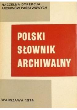 Polski słownik Archiwalny