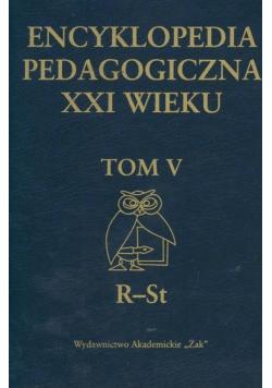 Encyklopedia pedagogiczna XXI wieku Tom V