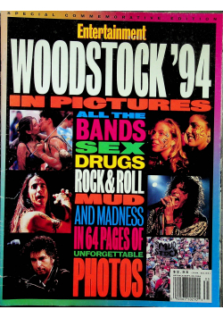 Entertainment weekly Woodstock 94 in pictures