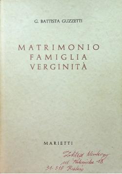 Matrimonio Famiglia Verginita IV