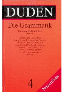 Duden Band 4  Die Grammatik