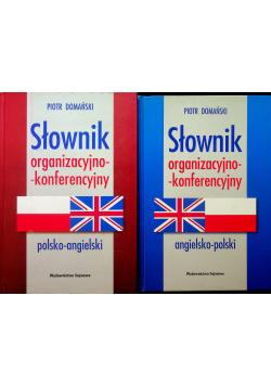 Słownik organizacyjno konferencyjny 2 tomy
