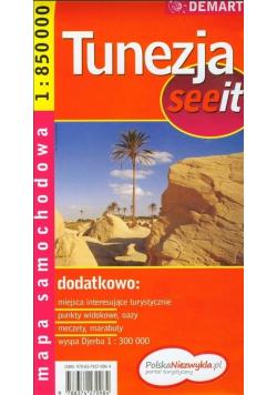 Tunezja see it - mapa samochodowa 1:850 000