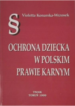 Ochrona dziecka w polskim prawie karnym