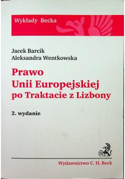 Prawo Unii Europejskiej po Traktacie z Lizbony