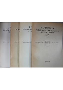 Rocznik polskiego towarzystwa geologicznego tom XXX 4 zeszyty