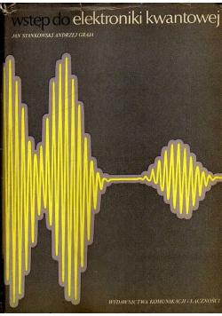 Wstęp do elektroniki kwantowej