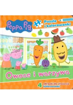 Świnka Peppa. Owoce i warzywa