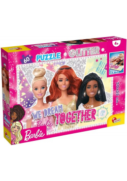 Puzzle Barbie We dream together Glitter 60