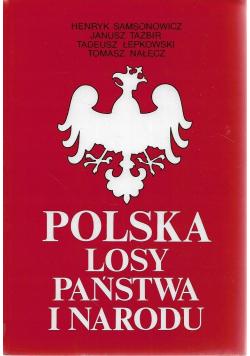 Polska losy państwa i narodu