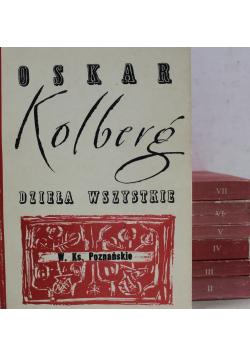 Kolberg Dzieła Wszystkie 7 tomów