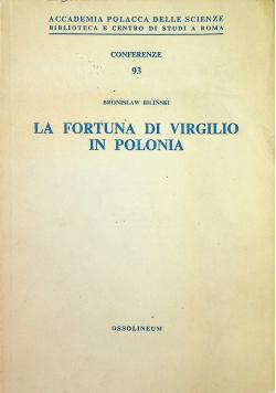 La Fortuna di Virgilio in Polonia